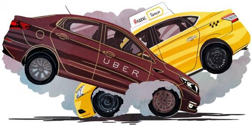 Опубликовано 14.07.2017 автором admin Лидеры рынка такси «Убер» и «Яндекс.Такси» заявили о слиянии их компаний