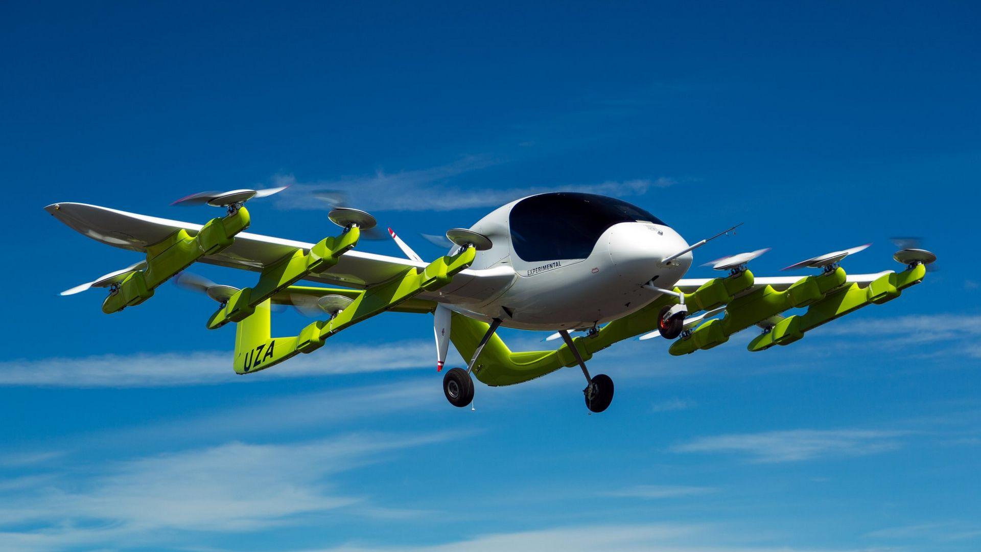 Компания Google представила беспилотное летающее такси