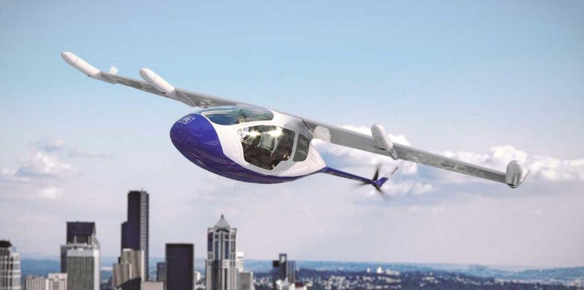 Rolls-Royce представляет гибридное летающее такси EVTOL