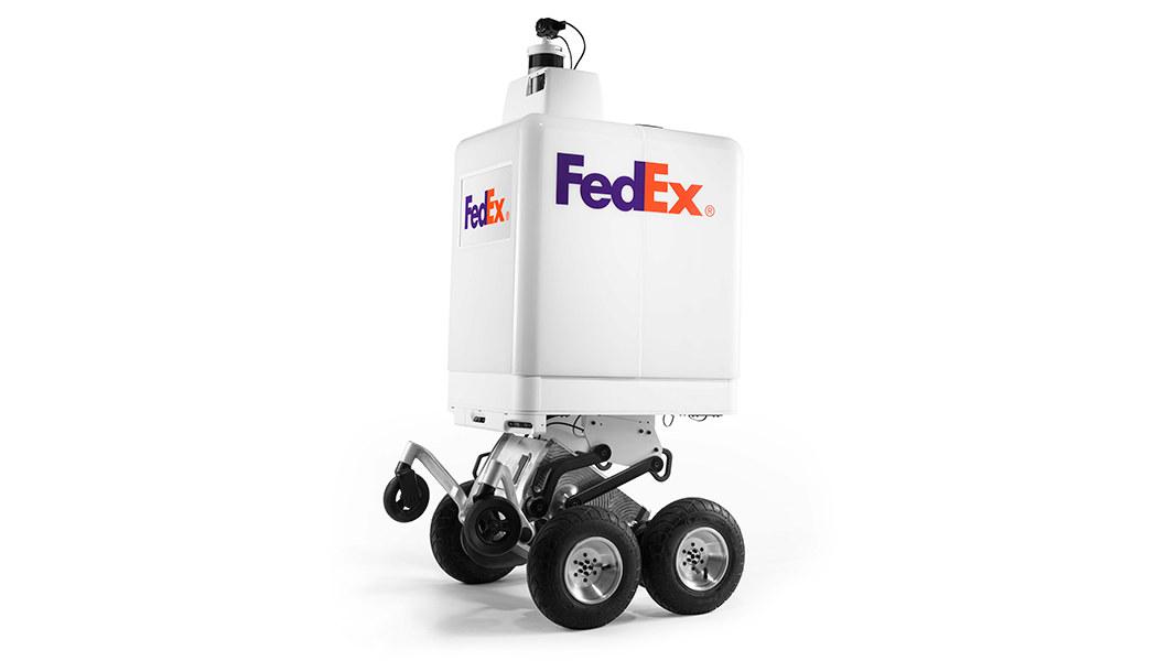 Этим летом FedEx начнет использовать автономных роботов