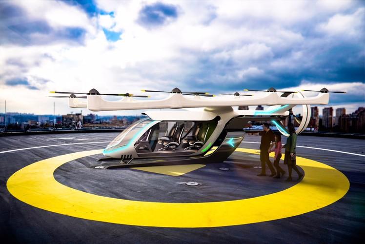 Летающие такси Uber Elevate могут быть здесь в 2023 году